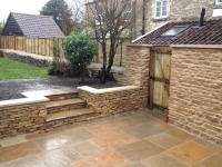 Steps, Paving, Dry Stone and Lime Mortar Walls